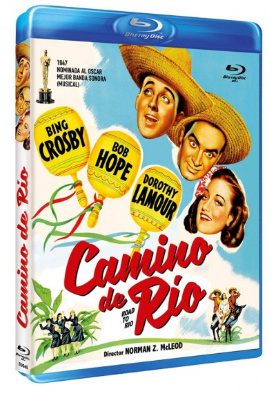 Camino de Río (Blu-ray) (Bd-R) (Road to Rio)