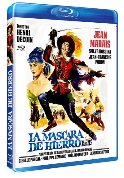 La Máscara De Hierro (Blu-ray) (Bd-R) (Le Masque De Fer)
