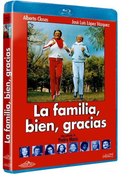 La familia, bien, gracias (Blu-ray)