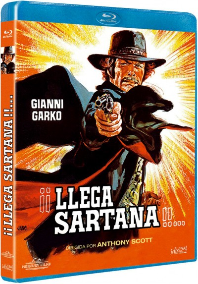 Llega Sartana (Blu-ray) (Una nuvola di polvere... un grido di morte... arriva Sartana)