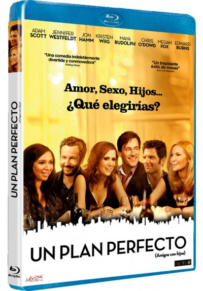 Un plan perfecto (Blu-ray) (Amigos con hijos) (Friends with Kids)