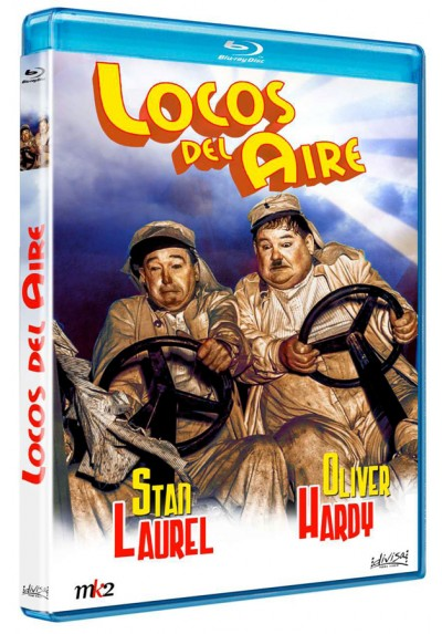 copy of Locos del aire (Blu-Ray) (The Flying Deuces)