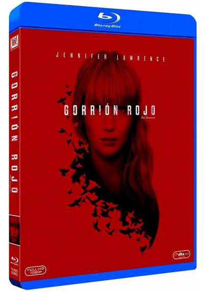 Gorrión rojo (Blu-ray) (Red Sparrow)