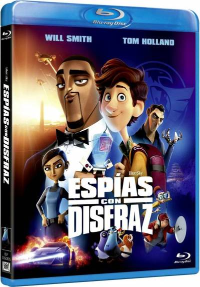 Espías con disfraz (Blu-ray) (Spies in Disguise)