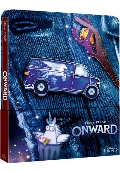 Onward - Steelbook 2 discos (Blu-ray)