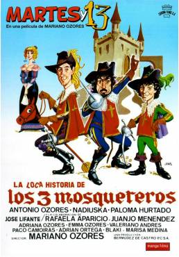La loca historia de los tres mosqueteros