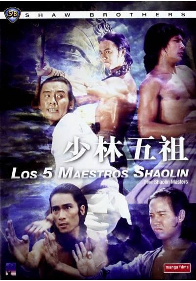 Los 5 maestros de Shaolin (Shao Lin wu zu) (5 Masters of Death)