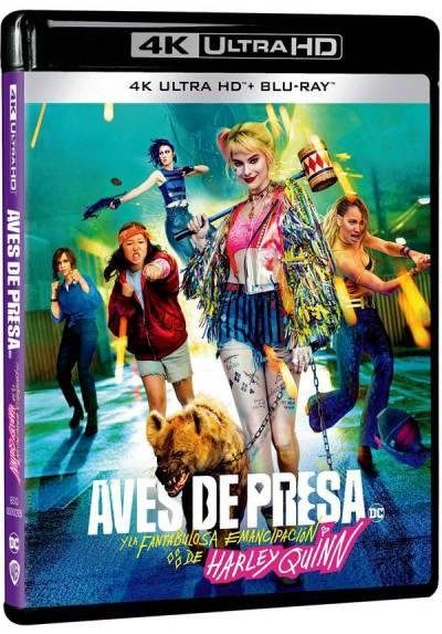 Aves de presa (y la fantabulosa emancipación de Harley Quinn) (UHD 4K + Blu Ray)
