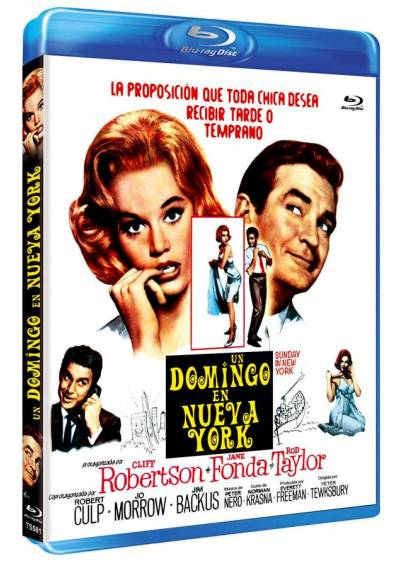 Un domingo en Nueva York (Blu-ray) (Sunday in New York)