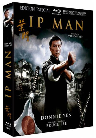 Ip Man - Edición Especial Numeraday Limitada con Funda y 8 Postales (Blu-ray) (The Legend of Yip Man)