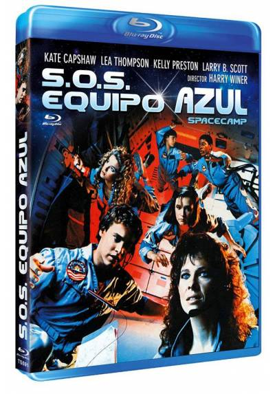 S.O.S: Equipo Azul (Blu-ray) (SpaceCamp)