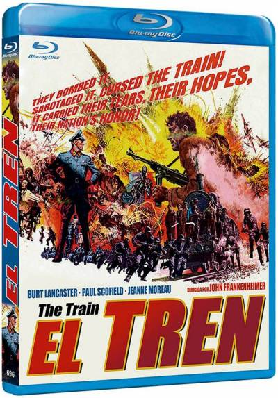 El tren (Bd-R) (Blu-ray) (The Train)