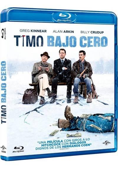 Timo bajo cero (Blu-ray) (Thin Ice) (The Convincer)