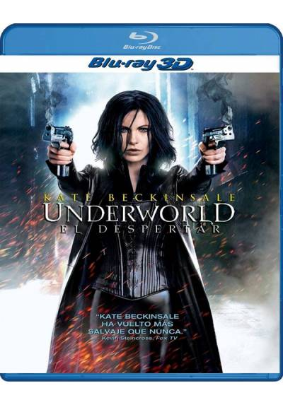 Underworld: El despertar (Blu-ray 3D) Underworld: Awakening (Underworld 4: New Dawn)