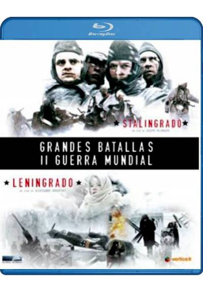 Pack Grandes batallas de la II Guerra Mundial (Blu-ray)