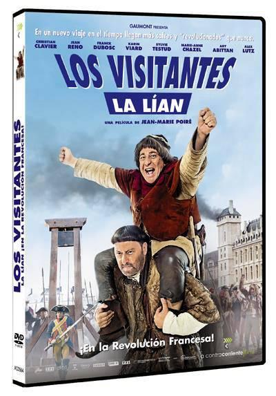 Los visitantes la lían (En la Revolución Francesa) (Les Visiteurs: La Révolution)