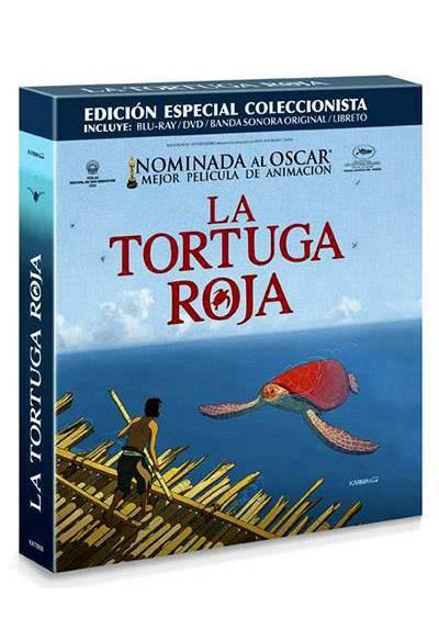 La Tortuga Roja - Edicion Coleccionista (Blu-ray + DVD + Banda Sonora + Libreto) (La tortue rouge)