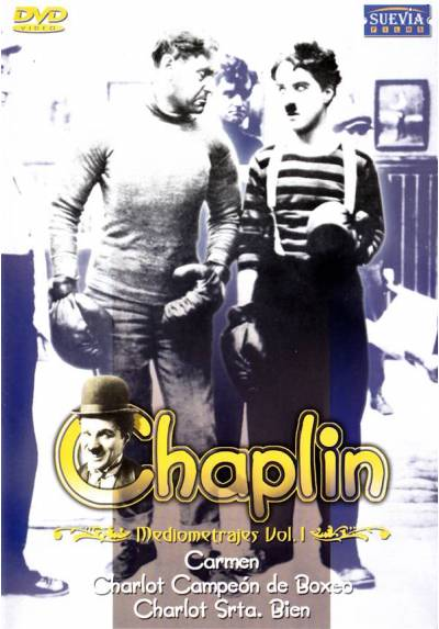 Mediometrajes Chaplin Vol.1