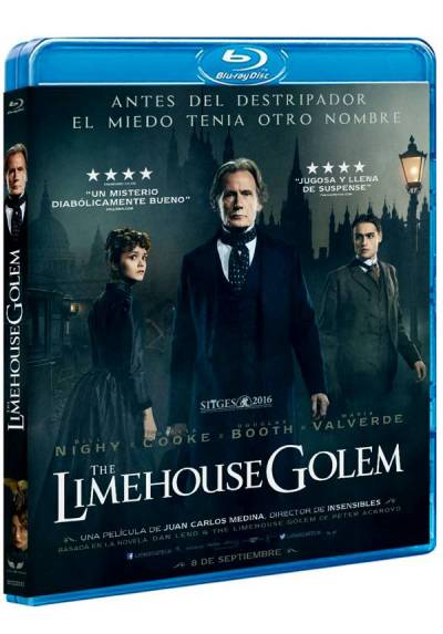The Limehouse Golem (Blu-ray) (Los misteriosos asesinatos de Limehouse)