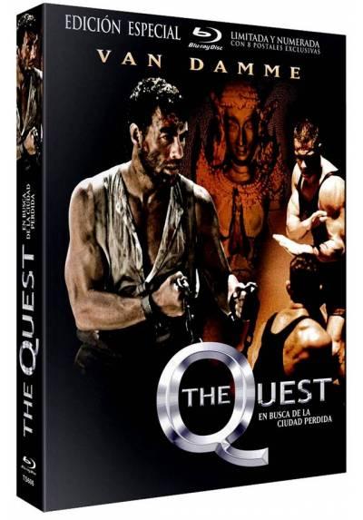 The Quest: En Busca de la Ciudad Perdida (Blu-Ray) (Edición Especial con Funda y 8 Postales)