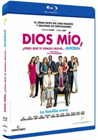 copy of Dios Mío, Pero Qué Te Hemos Hecho? (Blu-Ray) (Qu'Est-Ce Qu'On A Fait Au Bon Dieu?)