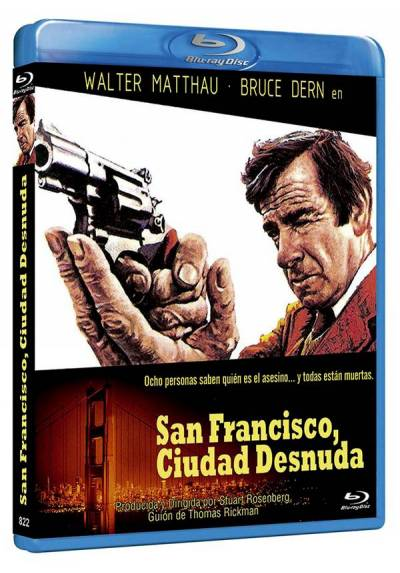 San Francisco, ciudad desnuda (Blu-ray) (The Laughing Policeman)