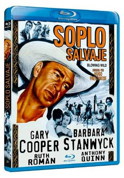 Soplo Salvaje (Blu-ray) (Blowing Wild)