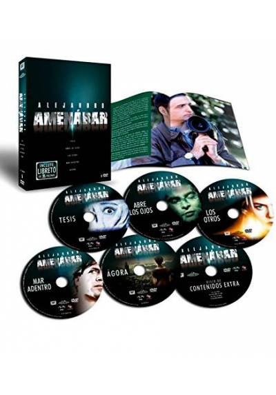 Pack Alejandro Amenabar + Libreto de 36 paginas
