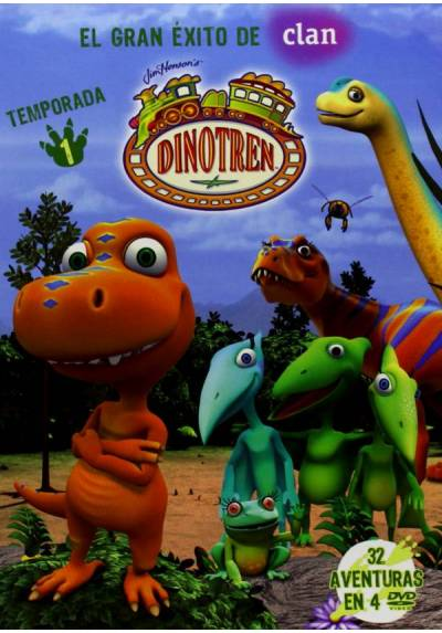 copy of Dinotren - Volumen 1 (Dinosaur Train)