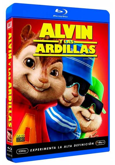 Alvin y las ardillas (Blu-ray) (Alvin and the Chipmunks)