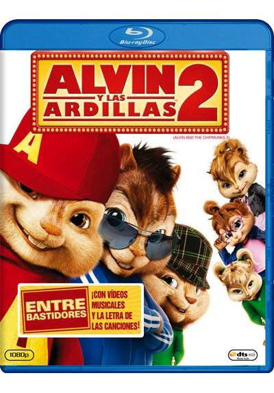 Alvin y las ardillas 2 (Blu-ray) (Alvin and the Chipmunks: The Squeakquel) (Alvin and the Chipmunks 2)