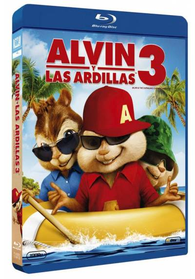 Alvin y las ardillas 3 (Blu-ray) (Alvin and the Chipmunks: The Squeakquel) (Alvin and the Chipmunks 3)