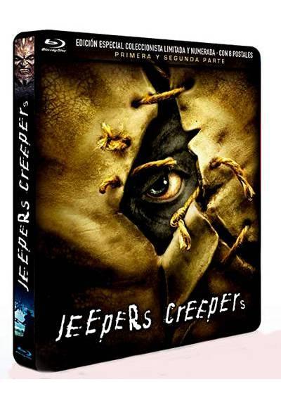 Pack Jeepers Creepers 1 y 2 (Blu-ray) (Edición Especial Metálica Limitada con 8 Postales)