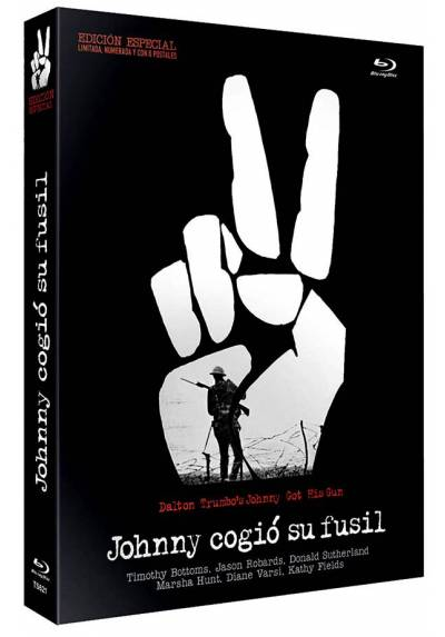 Johnny cogió su fusil (Blu-ray) (Dalton Trumbo's Johnny Got His Gun) (Ed. Especial con 8 Postales)