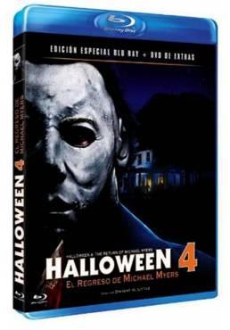 Halloween 4 (Blu-Ray + Dvd Extras)