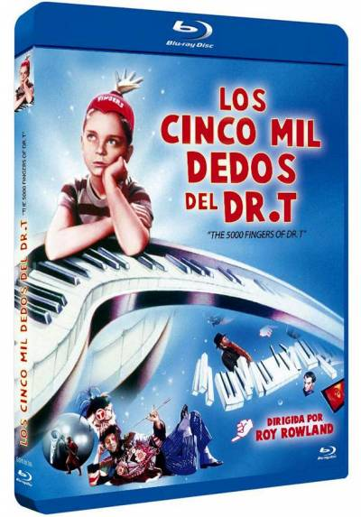Los cinco mil dedos del Dr. T (Blu-ray) (The 5,000 Fingers of Dr. T)