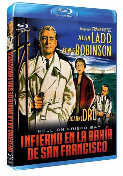 Infierno en la bahía de San Francisco (Blu-ray) (Bd-R) (Hell on Frisco Bay)