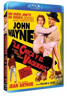 La chica y el vaquero (Blu-ray) (Bd-R) (A Lady Takes a Chance)
