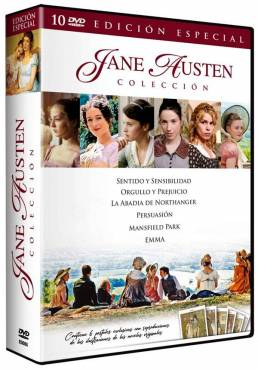Pack Coleccion Jane Austen - Contiene 6 Postales Vintage