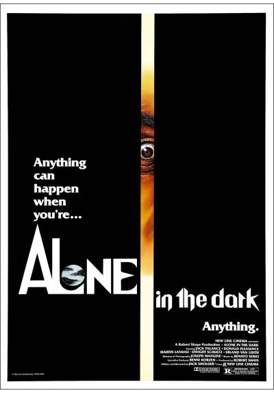 Solos En La Oscuridad (Alone in the Dark) - Poster Laminado
