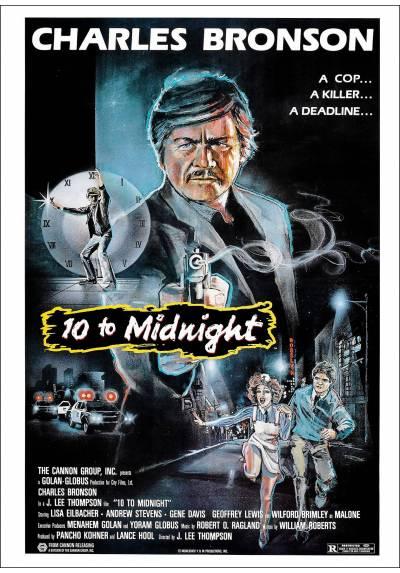 Al filo de la medianoche (10 to Midnight)  - Poster Laminado