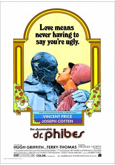 The Abominable Dr. Phibes (El abominable doctor Phibes) - Poster Laminado