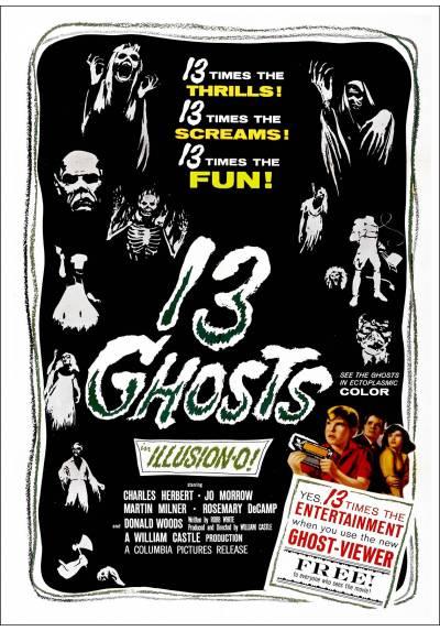 Los trece fantasmas (13 Ghosts) - Poster Laminado