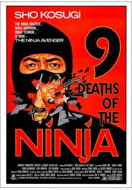 Las Nueve Muertes de Ninja (9 Deaths of the Ninja) - Poster Laminado