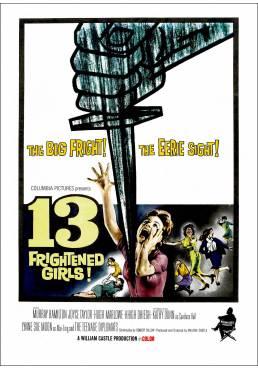 13 Chicas aterrorizadas (13 Frightened Girls) - Poster Laminado