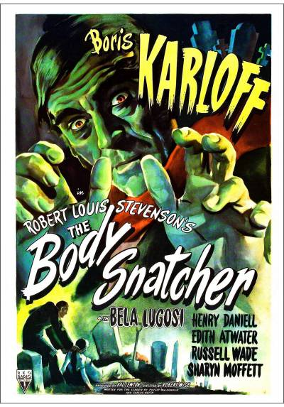 El Ladrón de Cadáveres (The Body Snatcher) - Poster Laminado