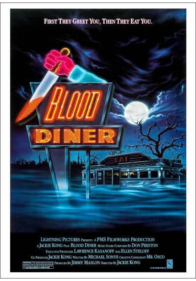 Fonda Sangrienta (Blood Diner) - Poster Laminado