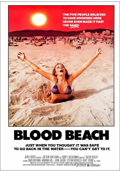 Playa Sangrienta (Blood Beach) - Poster Laminado