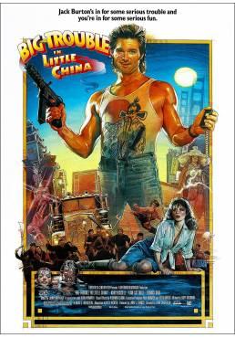 Golpe en la pequeña China (Big Trouble in Little China)  - Poster Laminado