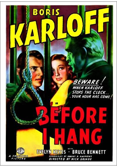 El Mago de la Muerte (Before I Hang) - Poster Laminado